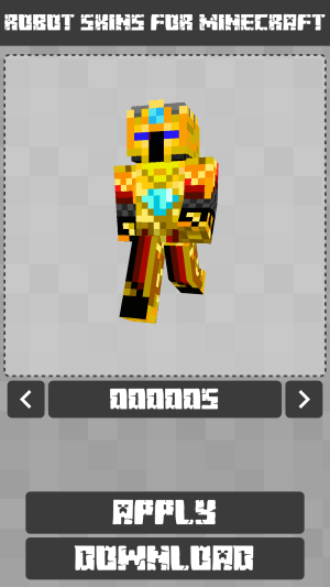 Robot Skins for Minecraft PE 1.0.8.060 Screen 5