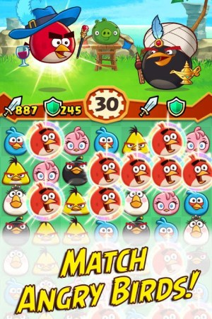 Angry Birds Fight! RPG Puzzle 2.5.6 Screen 1