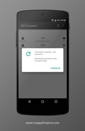 Android WPS Connect Screen 4
