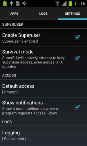 Android SuperSU Pro Screen 9