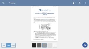 TurboScan: scan documents & receipts in PDF 1.5.7 Screen 16