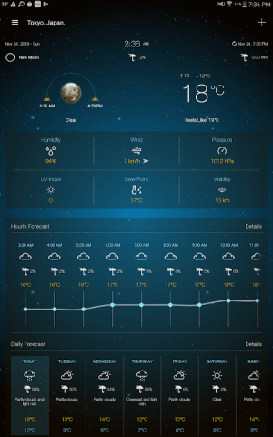 Weather Advanced for Android 1.0.5.0 Screen 7