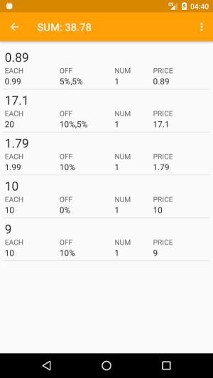 Discount Calculator App 2.14.15 Screen 9