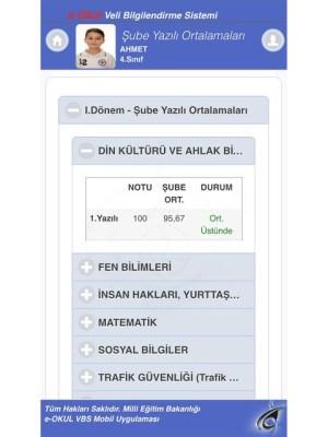 MEB E-OKUL VBS 1 Screen 4