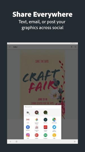 Adobe Spark Post: Poster & Graphic Design Editor 0.6.2 Screen 11