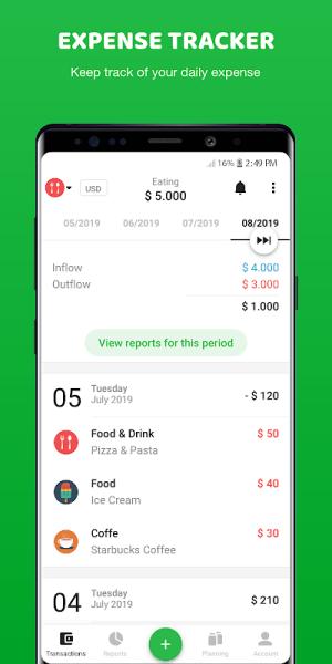 Money Lover 4.0.8.2020021803c Screen 2