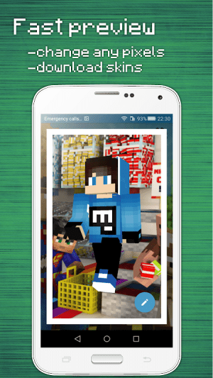 Skins Editor for Minecraft PE (3D) 3.4.1 Screen 3