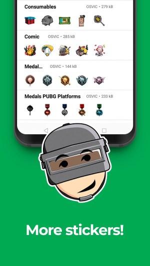 PUBG Stickers for WhatsApp Fan App 2020 1.1 Screen 3