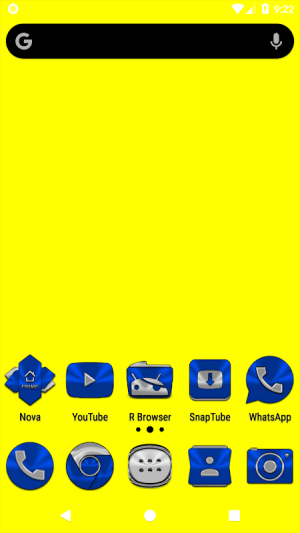 Blue Icon Pack ✨Free✨ 3.8 Screen 1