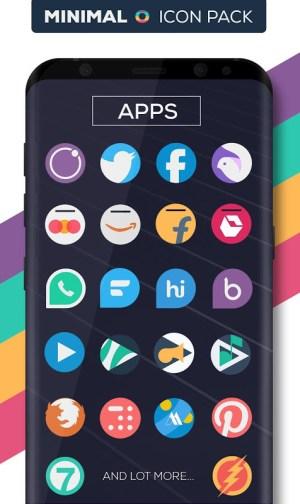 Minimal O - Icon Pack 3.1 Screen 2