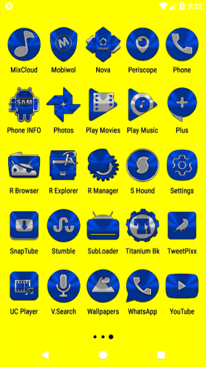 Blue Icon Pack ✨Free✨ 3.8 Screen 17