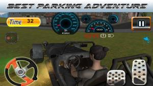 Android Parking Revolution: Super Car Offroad Hilly Driver Screen 8