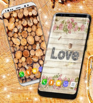 Wood Live Wallpaper ⭐ Sawdust Wallpapers 6.7.13 Screen 2