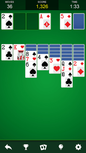 Solitaire 1.2 Screen 1