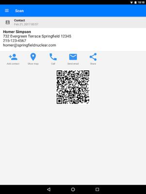 QR & Barcode Scanner 1.6.6 Screen 9