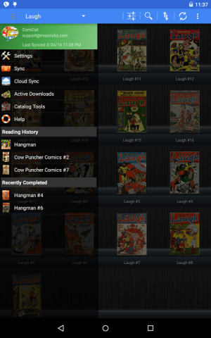 ComiCat (Comic Reader/Viewer) 2.42 Screen 12