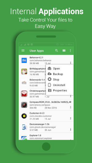 File Explorer 1.06 Screen 4