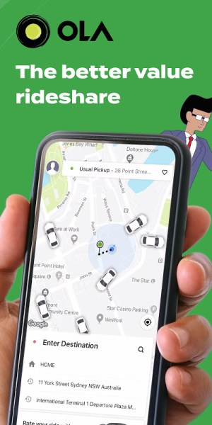 Ola. Get rides on-demand 5.0.6 Screen 6