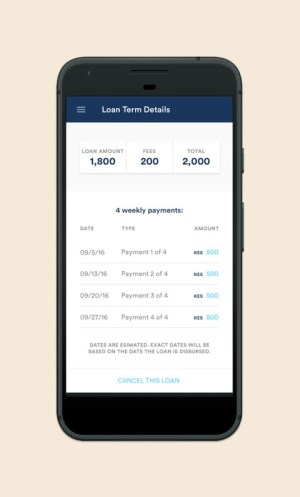 Branch - Personal Finance Loans 1.35.1 Screen 1