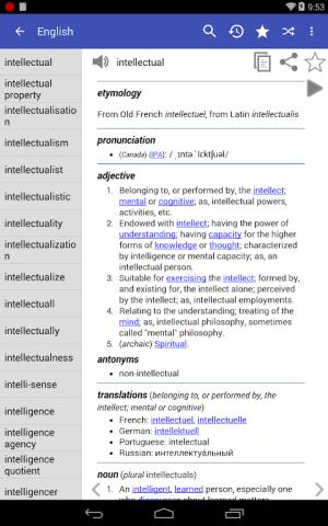 English Dictionary - Offline 4.5 Screen 15