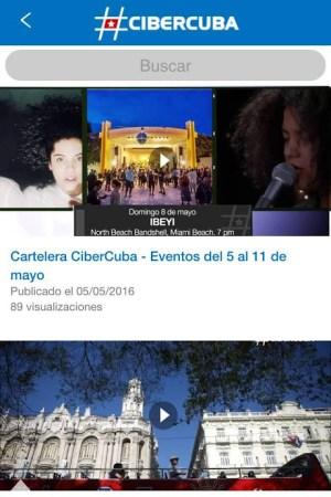 CiberCuba - Noticias de Cuba 1.6 Screen 1
