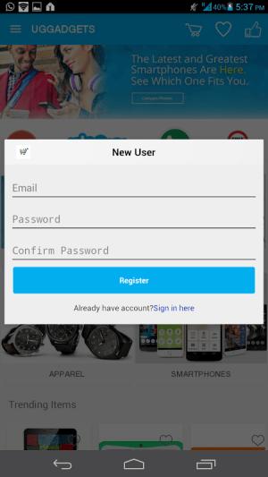Android UGGADGETS.COM Screen 4