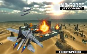 Android air force jet fighter combat Screen 3