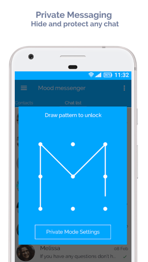 Mood Messenger - SMS & MMS 1.86o Screen 11