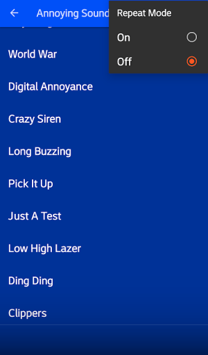 Annoying Sounds Free 4.0 Screen 4