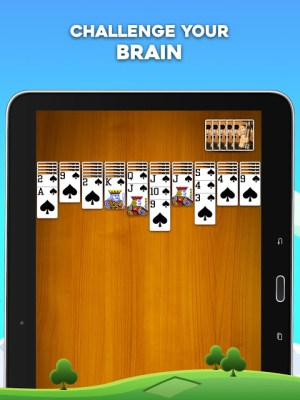 Android Spider Solitaire Screen 8