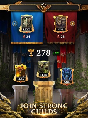 Legendary Game of Heroes: Match-3 RPG Puzzle Quest 3.6.9 Screen 1