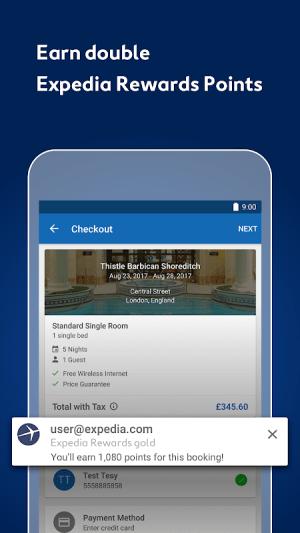 Expedia Hotels, Flights, Car Hires & Activities 18.43.0 Screen 10