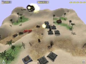 Concrete Defense 1940: WWII Tower Siege Game 1.6 Screen 1