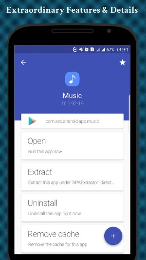 Android APK Extractor - APP Backup Screen 1