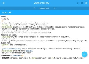 Concise Oxford English & Thes 8.0.251 Screen 9