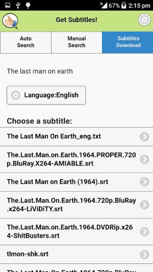 Get Subtitles 10.0 Screen 1