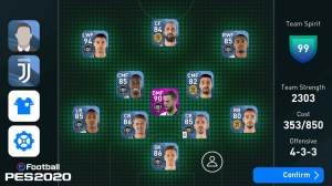 Android eFootball PES 2020 Screen 17