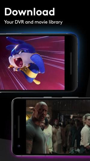 Android Xfinity Stream Screen 3