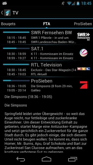 Android tiMote Screen 3