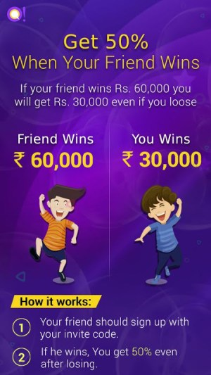 Android Qureka: Live Quiz Show & Brain Games | Win Cash Screen 1