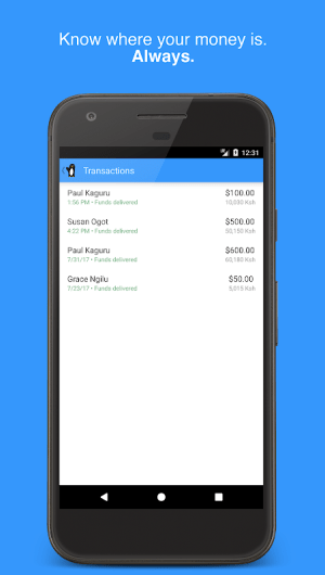 Wave—Send Money to Africa 2.1.3 Screen 4