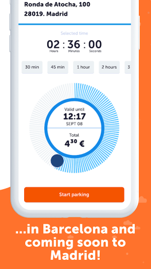 Parclick – Find and Book Parking Spaces 3.3.1.0 Screen 1
