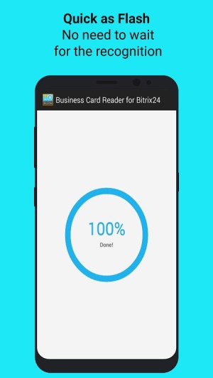Android Bitrix24 CRM Business Card Reader Screen 5