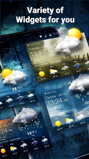 Local Weather Report Widget 9.0.6.1460 Screen 2