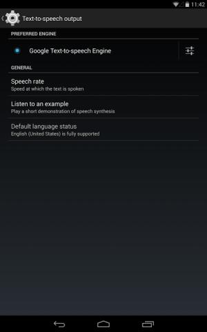 Google Text-to-speech Engine 3.8.16 Screen 4
