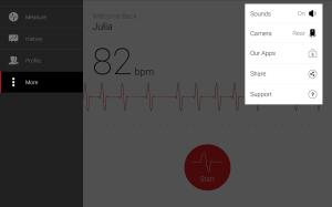 Cardiograph - Heart Rate Meter 4.1.2 Screen 9