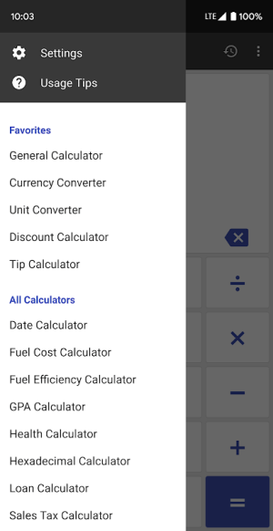 ClevCalc - Calculator 2.16.23 Screen 4