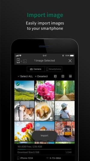 FUJIFILM Camera Remote 4.4.1(Build:4.4.1.1) Screen 3