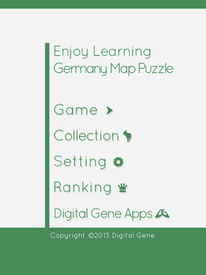 Enjoy Learning Germany Map Puzzle 3.3.1 Screen 3