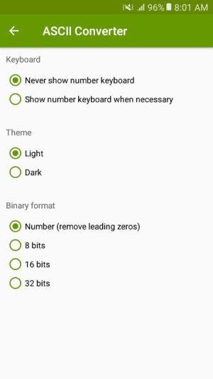 ASCII Converter - Text Encoder 1.2.4 Screen 4